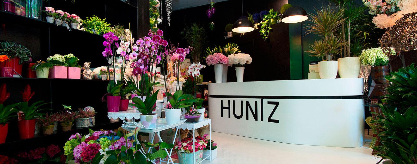 logotipo de HUNTZ ARTE-FLORAL SL